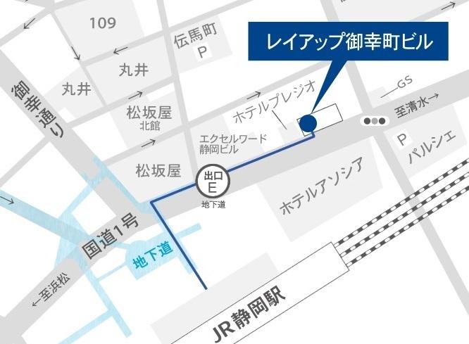 レイアップ御幸町ビル 地図